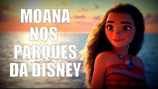 Onde encontrar a Moana na Disney