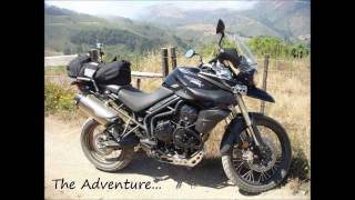 300 Miles in 9 minutes (Big Sur Old Coast Road) Drift HD Triumph Tiger
