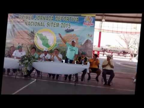 PRIMER JORNADA DEPORTIVA NACIONAL SITEM 2015. BACALAR, QUINTANA ROO