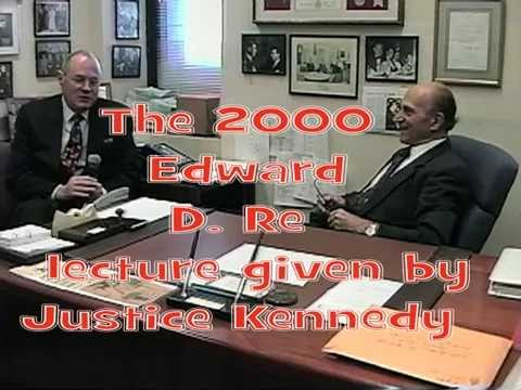Justice Anthony Kennedy 2000 Lecture -