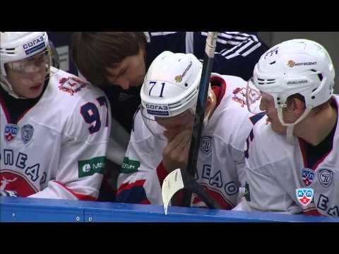 Травма Дениса Казионова / Kazionov is  unable to continue the game due to injury