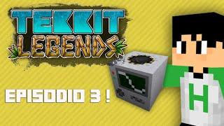 Tekkit Legends | Enfim uma Quarry! | #3