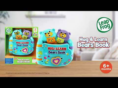 LeapFrog® Hug & Learn Bears Book