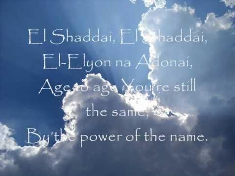 Susanna Galer - El Shaddai.