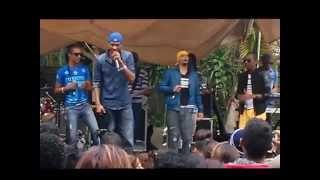 Mr Love & System R : Live Family day at la Vanille Crocodile Park, Mauritius 02.08.15