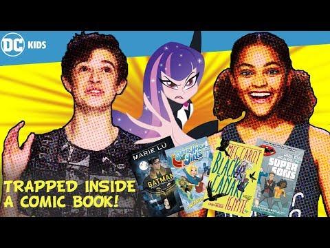 Going Inside Books!   DC Kids Show