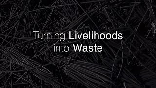 Turning Livilihoods to Waste