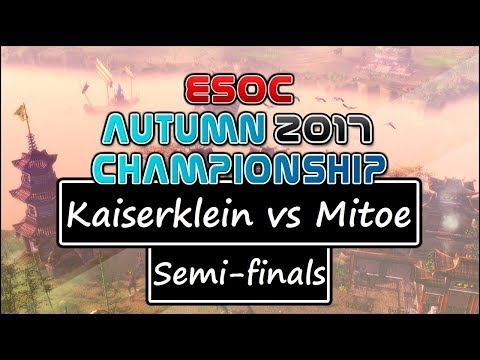 [AoE3] ESOC Autumn Tournament — SEMI-FINALS: Kaiserklein vs Mitoe