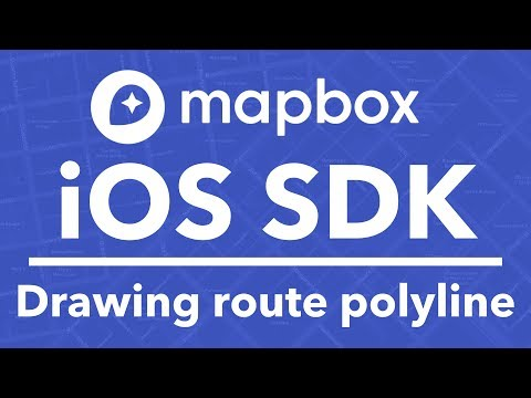 3/3 Mapbox SDK – Drawing Route Polyline - YouTube