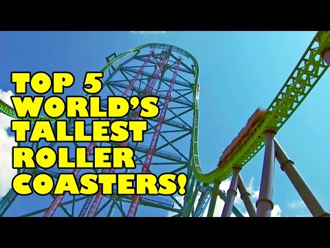 Top 5 Worlds Tallest Roller Coasters! AWESOME!!! Complete Circuit Rollercoasters!