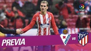 Previa SD Eibar vs Atlético de Madrid