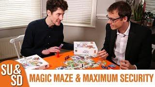 Magic Maze  Maximum Security expansion - Shut Up  Sit Down Review