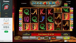 Beetle Mania 50€ bet and afterward Book of Ra 6 bonus BIG WIN!