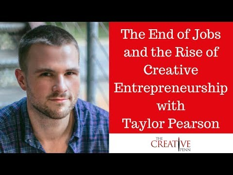 The End of Jobs and the Rise of Creative Entrepreneurship wi