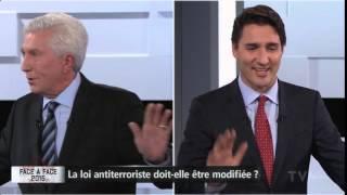 Trudeau appelle Duceppe « mon amour »