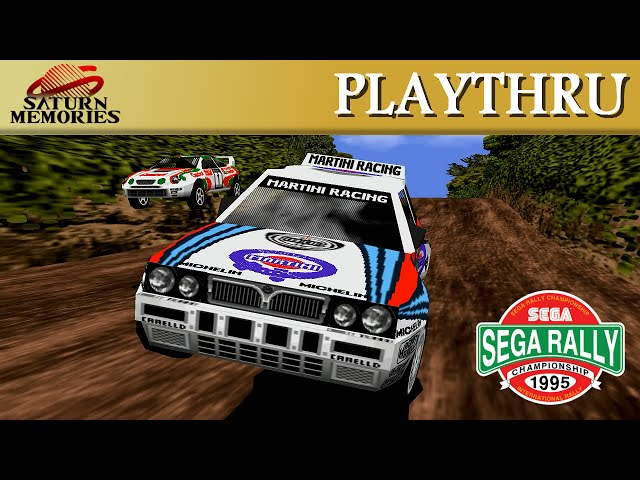Sega Rally Championship [Model 2] [Arcade] by SEGA [HD] [1080p]