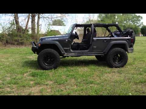 Jeep Wrangler Jk 4 Door On 37 Inch Nitto Tires With