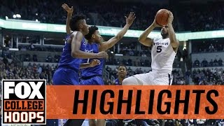 (7) Creighton rallies to defeat (22) Xavier | 2017 COLLEGE BASKETBALL HIGHLIGHTS
