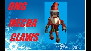 MECHA SANTA IN ROBLOX Christmas Tycoon 2 - War on Christmas