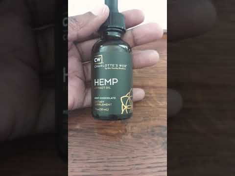 CW Charlotte's Web CBD Hemp Oil Review