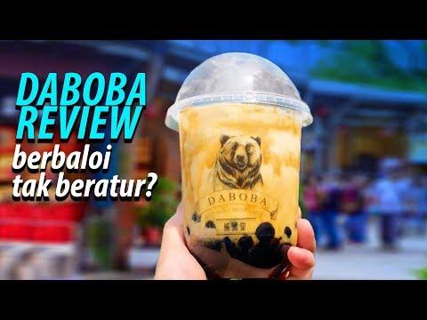 BERATUR SETENGAH JAM UNTUK DABOBA BUBBLE MILK TEA REVIEW