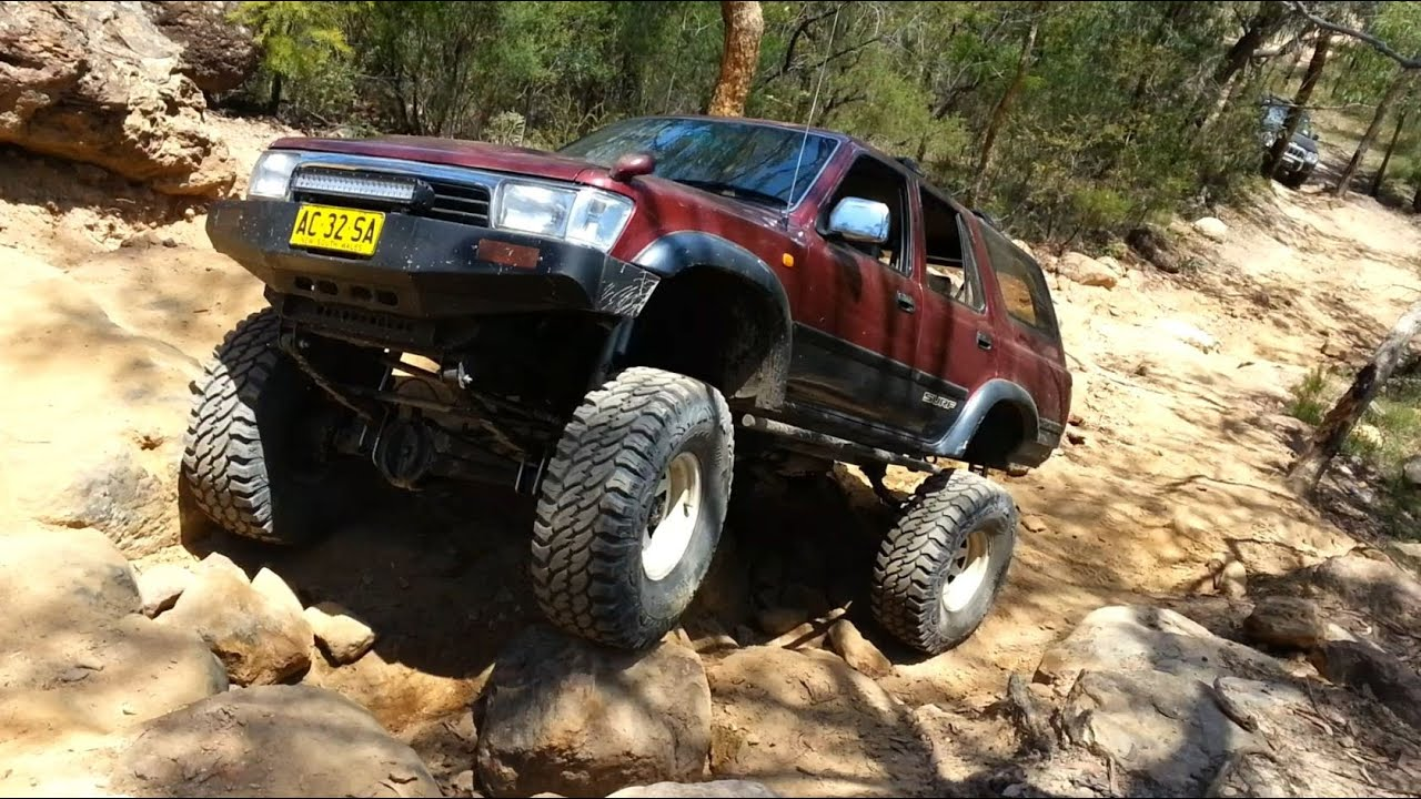 One Tough Hilux Surf Youtube