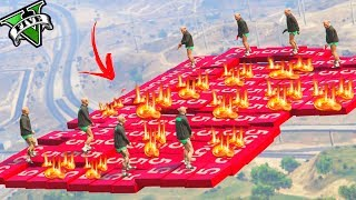 GTA 5 ONLINE 🐷 LTS 🐷N*181🐷 THE FLOOR IS LAVA CHALLENGE !!! 🐷 GTA 5 ITA 🐷 DAJE !!!!!!!