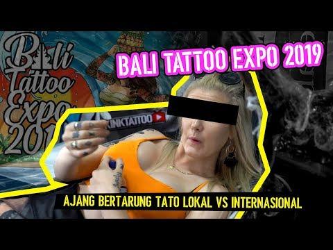 TATTOO ARTIST LOKAL VS TATTOO ARTIST INTERNASIONAL!! (BALI TATTOO EXPO 2019)
