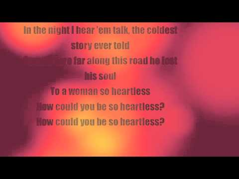 Heartless -  The Fray (Lyric Video)