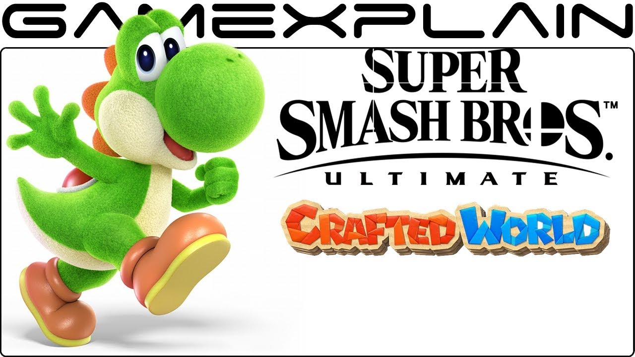 Yoshi's Crafted World Alt Costume Discovered in Smash Bros. Ultimate! (+More New Renders)