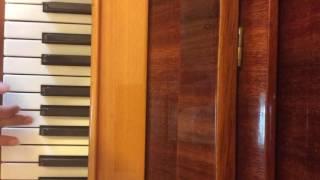Как научится играть на пианино Прекрасное далеко