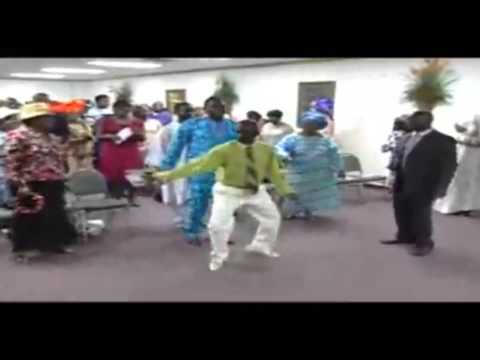 FUNNY AFRICAN GIVING DANCE OFFERING MCCOLLUM