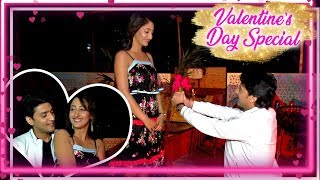 Kinshuk Vaidya Valentine Surprise Date For Shivya Pathania | Valentine day Special