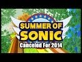 Summer of Sonic Canceled For 2014 and Sonic Boom (Event) Announced!