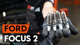 Kuinka vaihtaa sytytystulpat FORD FOCUS 2 (DA) -merkkiseen autoon [OHJEVIDEO AUTODOC]