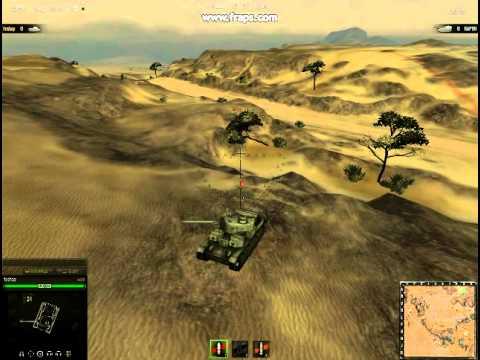 World of tanks баг (как залесть на гору)