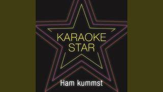Ham kummst (Karaoke Version) (Originally Performed by Seiler & Speer)