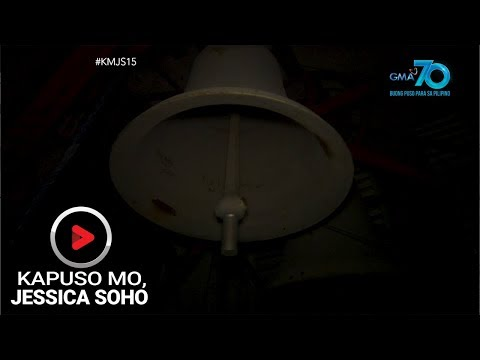Kapuso Mo, Jessica Soho: Kampana sa Calapan, Oriental Mindoro, tumunog nang mag-isa?!