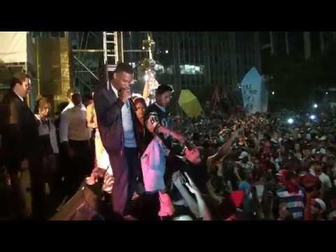 GZA/Genius Wu-Tang Concert in São Paulo - Vale do Anhangabaú (MCI 2014)