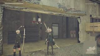 NieR:Automata - How to transform from 2B to 2Butt