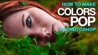 How to Make Colors POP in Photoshop(Our #1 PRO Tutorial ever is now on Sale! https://phlearn.com/popular Phlearn discount for Creative Cloud: http://adobe.ly/1MWG5Kq Stock Images provided by: ..., 2014-07-30T21:20:07.000Z)