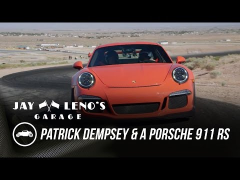 Patrick Dempsey And Jay Leno Hit The Track In Porsche Rs
