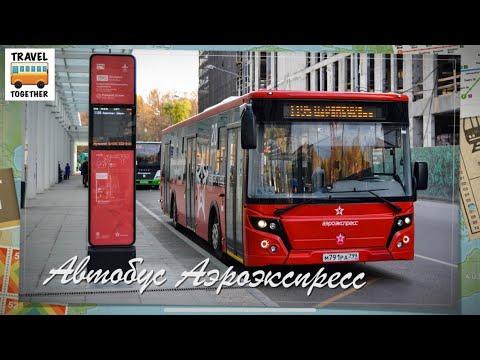 Автобус Аэроэкспресс в аэропорт Шереметьево | AeroExpress, Moscow SVO