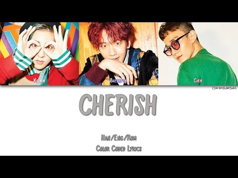 EXO-CBX (첸백시) - CHERISH [Color Coded Han|Rom|Eng]