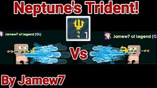 Neptune's Trident Set Challenge! (400DL SET) OMG!! - Growtopia