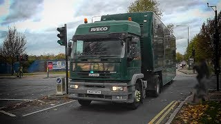 RARE | London Metropolitan Police escorting unmarked Iveco lorry