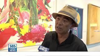 '이색 과일 전시회-비예술인 갤러리 개관'