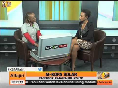 K24Alfajiri interview on matters M-Kopa Solar with June Muli