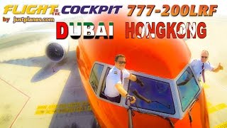 Boeing 777 Cockpit to DUBAI & HONG KONG