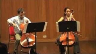 Suite a 2 Cellos de F. Couperin. III. Sarabande
